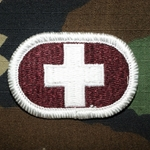 Oval, 8th Medical Detachment, Merrowed Edge