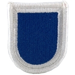 Beret Flash, 2nd BCT, 82nd Airborne Division, Merrowed Edge
