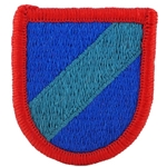 Beret Flash, STB, 3rd BCT, 82nd Airborne Division, Merrowed Edge