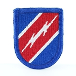 Beret Flash, STB, 82nd Airborne Division, Merrowed Edge
