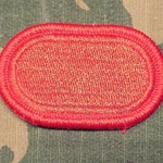 Oval, 82nd Airborne Division (Airborne) Artillery (DIVARTY), Merrored Edge