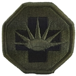 Patch, 8th Medical Brigade, Color