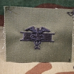 Subdued Sew-On, Expert Field Medical Badges (EFMB) Type 2