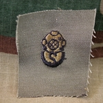 Subdued Sew-On, Diver Badge, Salvage