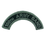 Tab, 40th Army Band, Color