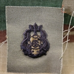 Subdued Sew-On, Diver Badge, Master