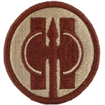 Patch, 11th Military Police Brigade, Color