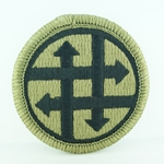 Patch, 4th Sustainment Command, MultiCam® with Velcro®