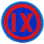 Patch, 9th Mission Support Command, Color