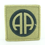 Patch, 82nd Airborne Division MultiCam® without Airborne Tab with Velcro®