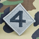 Patch, 4th Marine Division ACU with Velcro®