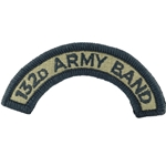 Tab, 132nd Army Band, OCP / MultiCam® / Scorpion with Velcro®