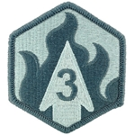 Patch, 3rd Chemical Brigade, Color
