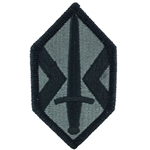 Patch, 412th Support Brigade ACU with Velcro®