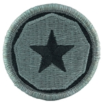 Patch, 9th Support Command, Color