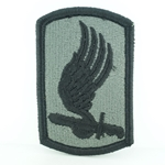 Patch, 173rd Airborne Brigade without Airborne Tab ACU with Velcro®