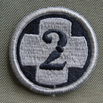 Patch, 2nd Medical Brigade ACU with Velcro®