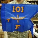 Guidons, Infantry, 20-inch hoist by a 27-inch fly