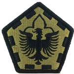 Patch, 555th Engineer Brigade, MultiCam® with Velcro®