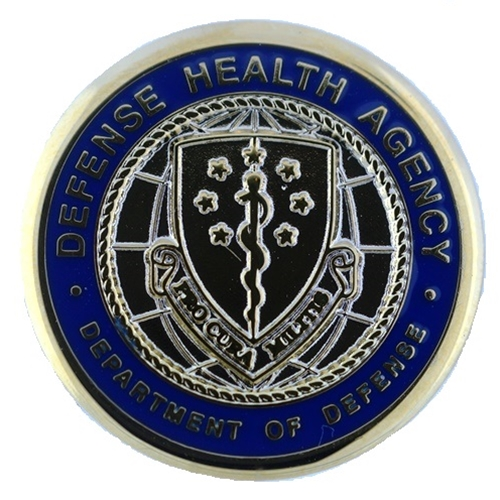 Eagles Of War Lapel Button Defense Health Agency Mil Dtl 11484 394