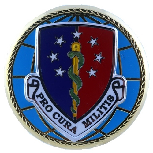 Eagles Of War Badge Defense Health Agency Miniature Size Mil