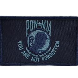 Patch, Prisoner of War / Missing in Action, Dark Blue/Light Blue with Velcro®
