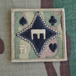 Helmet Patch, 326th Engineer Battalion, MultiCam®