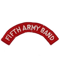 Tab, 133rd Army Band, Color
