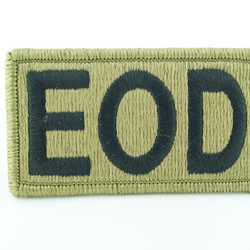 Patch, Brassard, Explosive Ordnance Disposal (EOD), MultiCam® with Velcro®