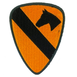 Patch, 1st Cavalry Division, Color