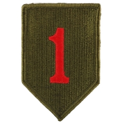 Patch, 1st Infantry Division, Color
