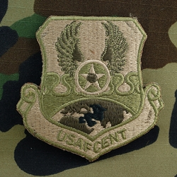 Patch, U S  Air Force Central Command, MultiCam® with Velcro®