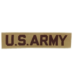 Desert Tan Wolven U.S. Army Insignia, Distinguishing, Nametape Tags G.I.