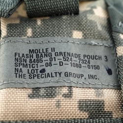 Eagles Of War Molle Ii Flash Bang Grenade Pouch Army Combat